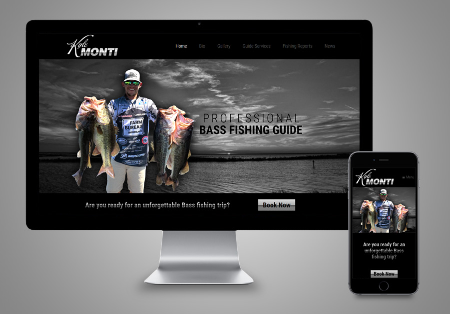 Website Design - Kyle Monti