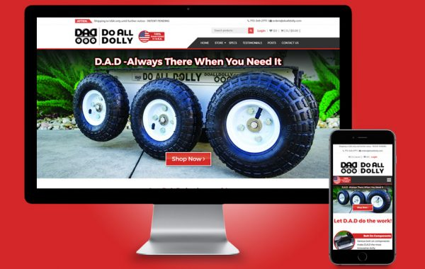 Website Design - Do All Dolly