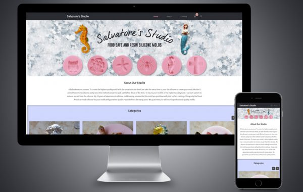 Website Design - Salvatore's Studio