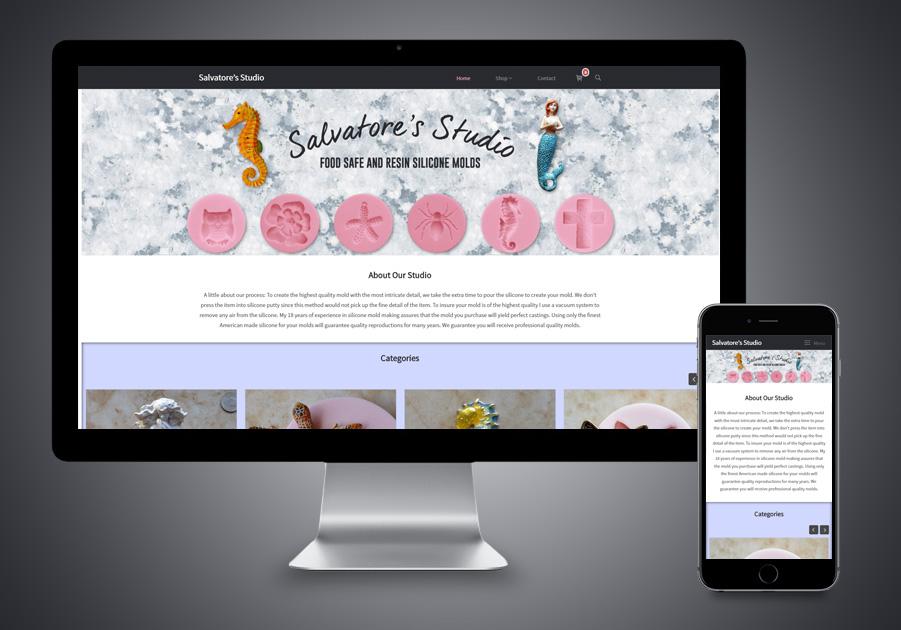 Website Design - Salvatore's Studio