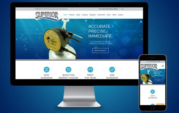 Website Design - Superior Chlorinators