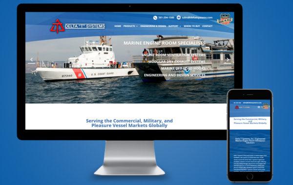 Website Design - Delta T Systems