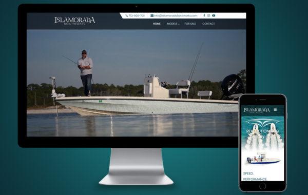 Website Design - Islamorada Boatworks