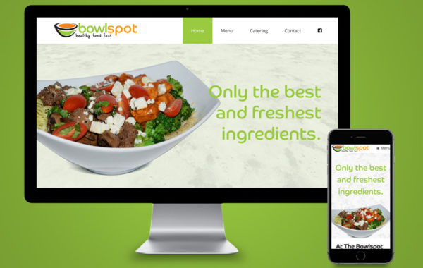 Website Design - Bowl Spot