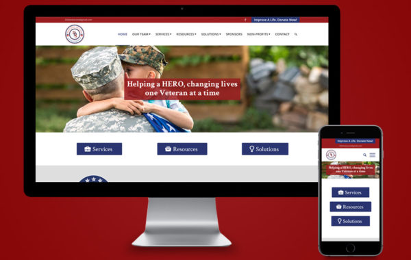 Website Design - DDS4Vets