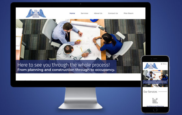 Website Design - LBJ Construction