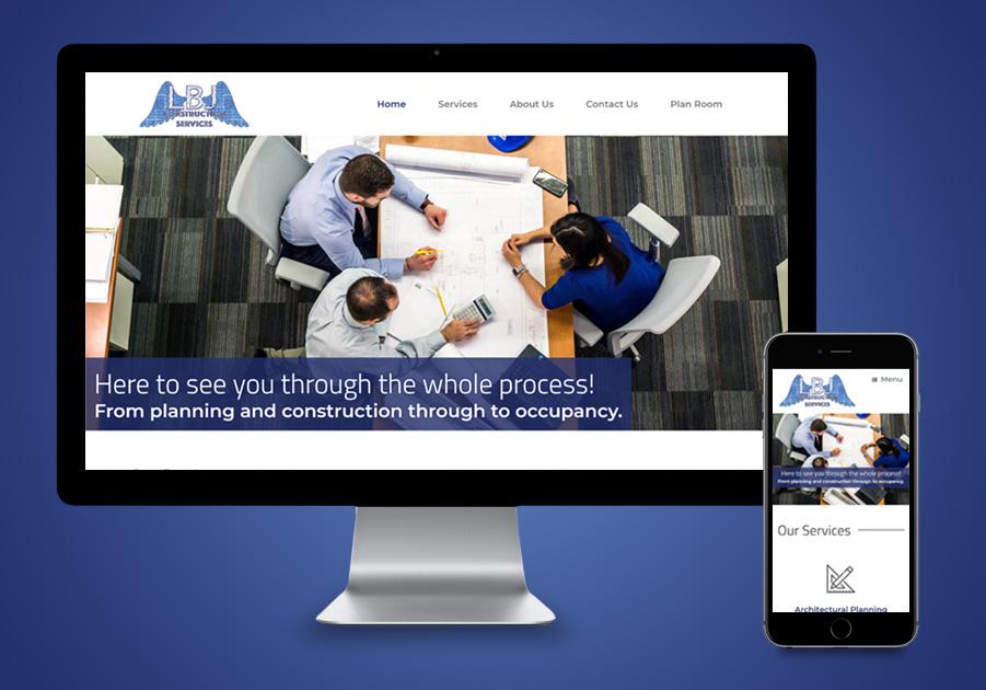 Website Design - LBJ Construction