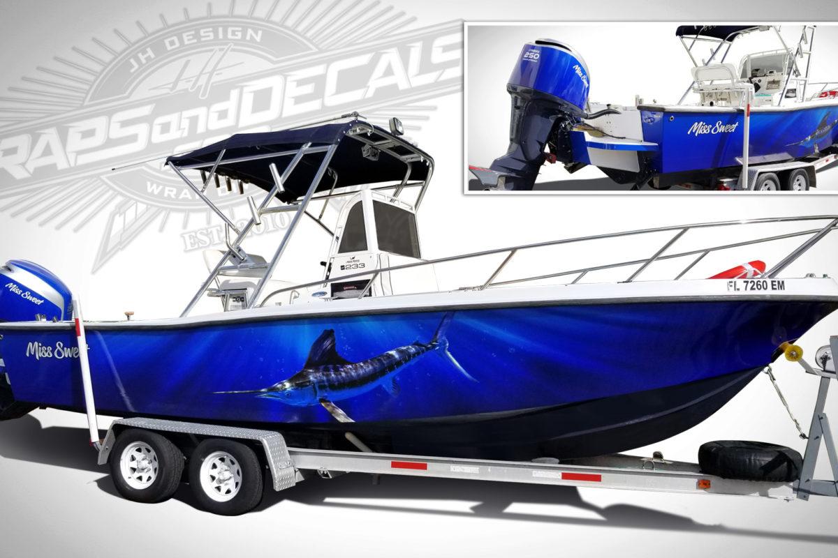 Boat Full Wraps PSL Florida