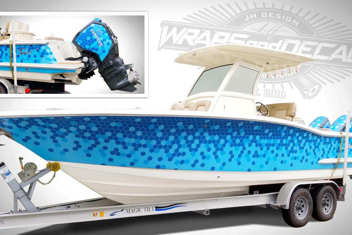 Boat wraps Treasure Coast FL