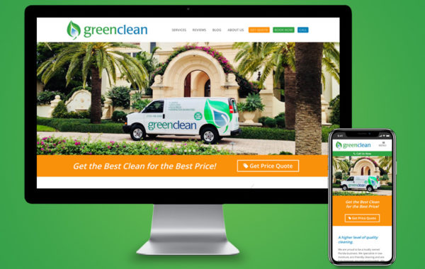 Website Design - Green Clean