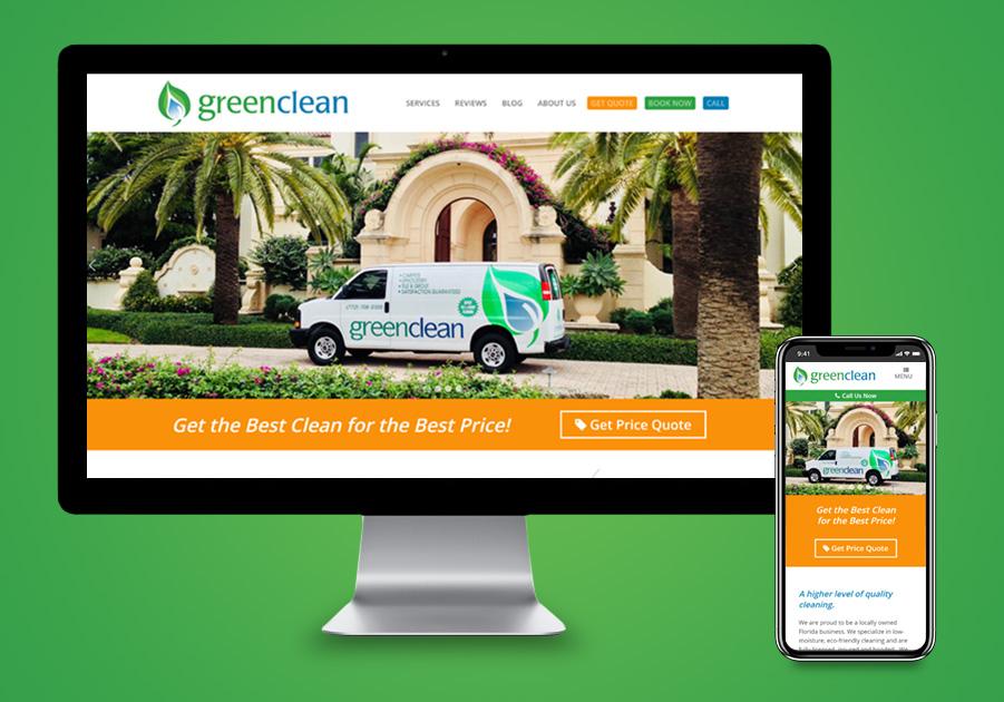 Website Design - Green Clean