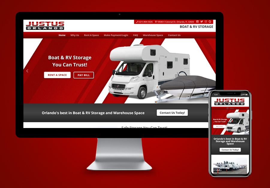 Website Design - Justus Orlando