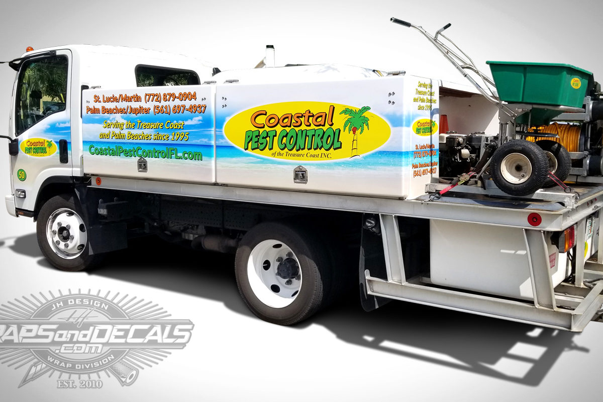 Commercial Vehicle Wraps Port Saint Lucie